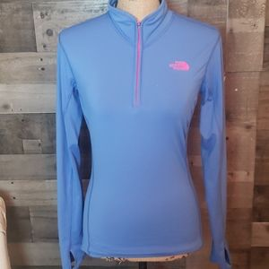 The North Face pullover  running jacket shirt m